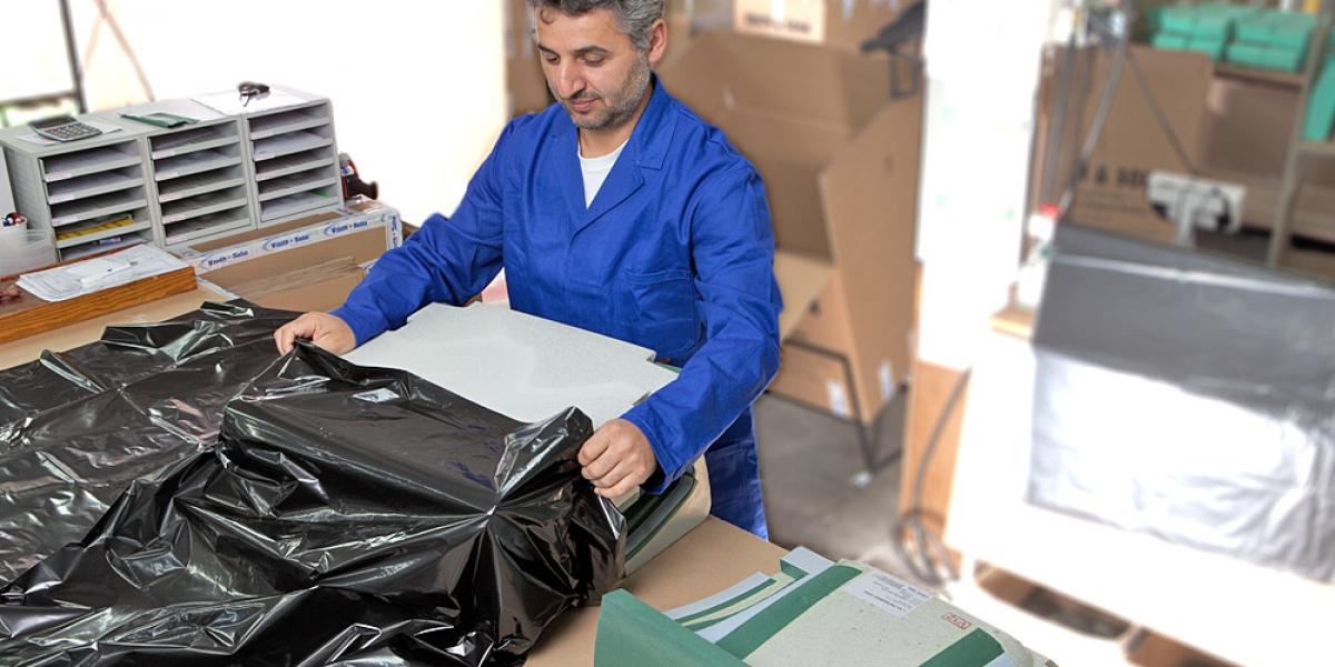 Verpacken und versenden