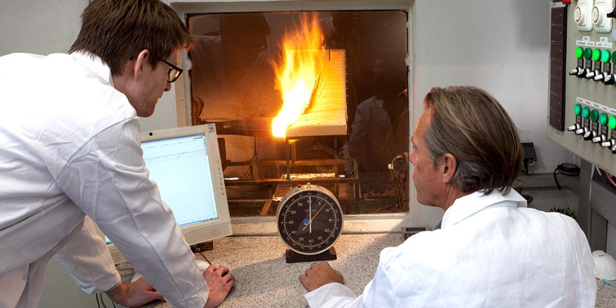 Oil Burner testing
