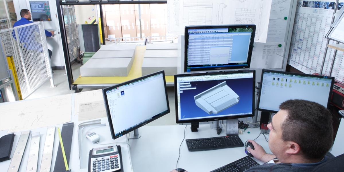 Konstruktion anhand Konstuktionsdaten oder digitaler Formen