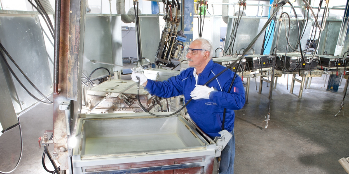 Preparing of the forming mould